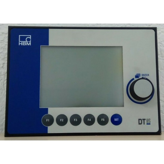 Display and Control Unit - HBM DT85