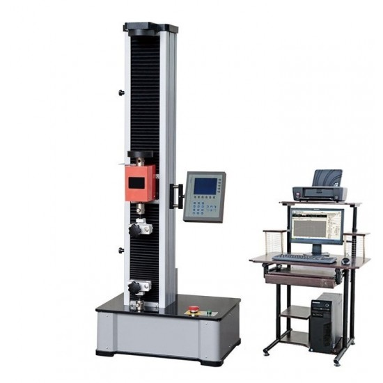 Electronic universal testing machine from 0.1 to 5 kN