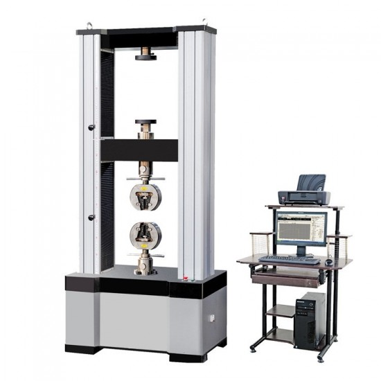 Electronic universal testing machine from 200 - 300 kN