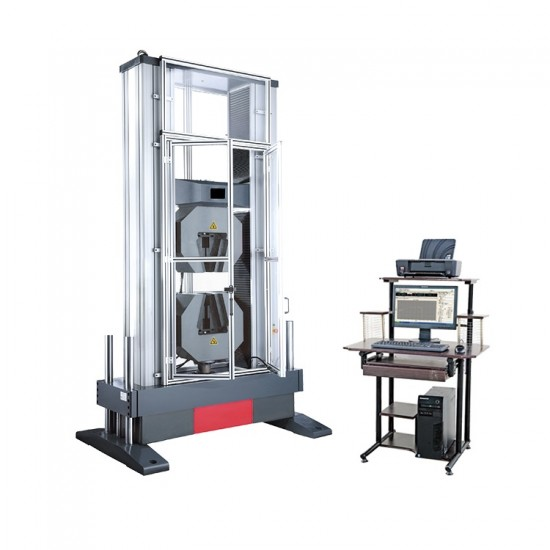 Electronic universal testing machine from 500 to 600 kN
